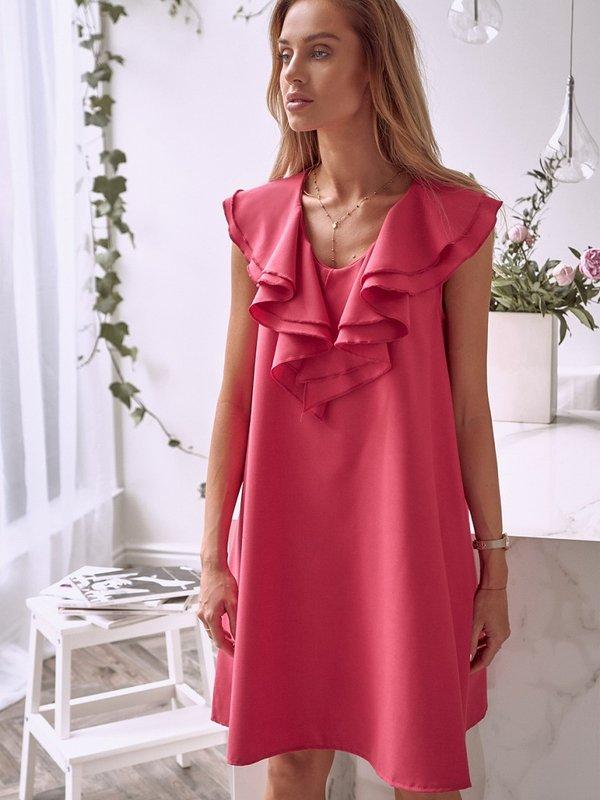 Sukienka Norie Malinowa