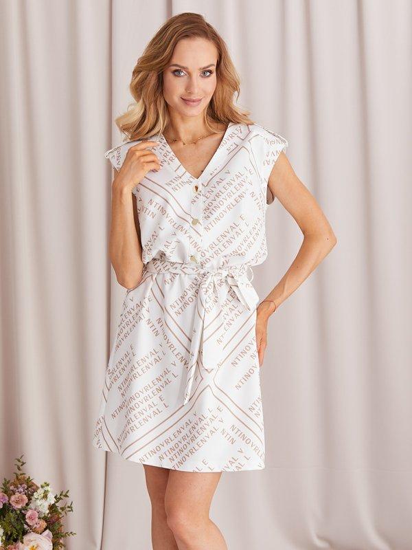 Sukienka Galia Biała