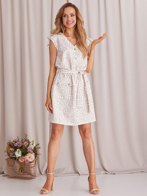 Sukienka Vivien Biała