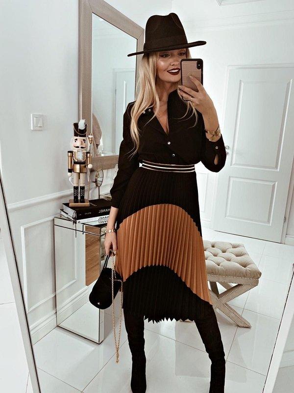 Sukienka True Czarna