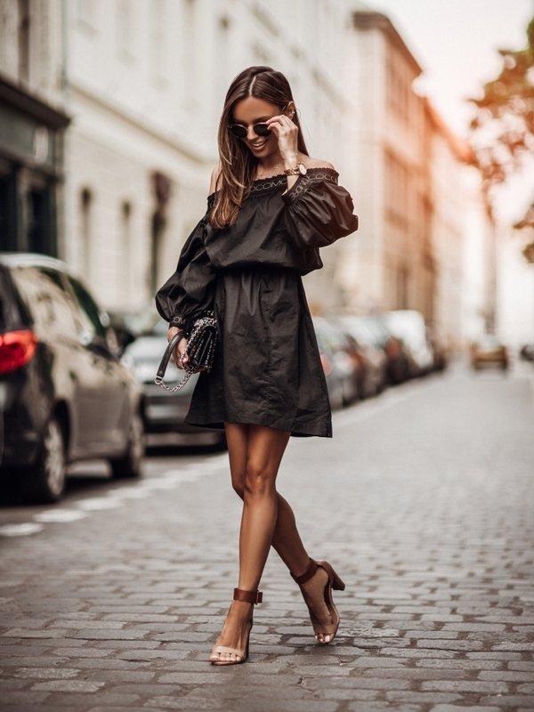Sukienka Alma Czarna
