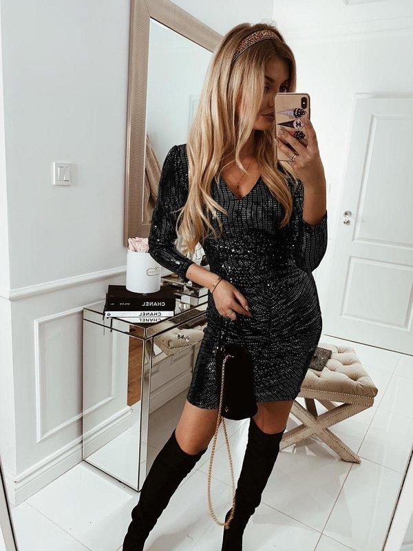 Sukienka Trini Czarna