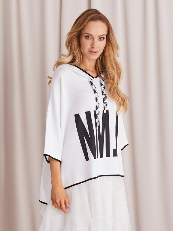 Sweter NML Biały