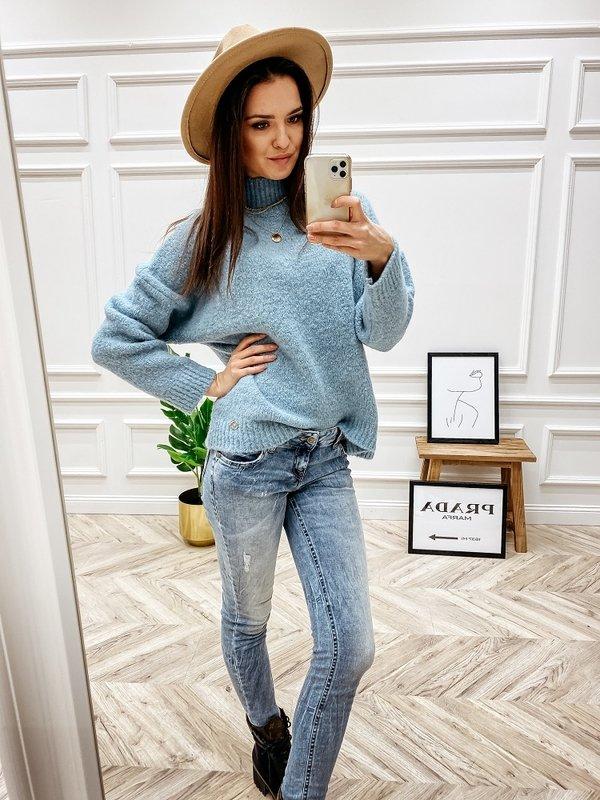 Sweter Levrone Błękitny