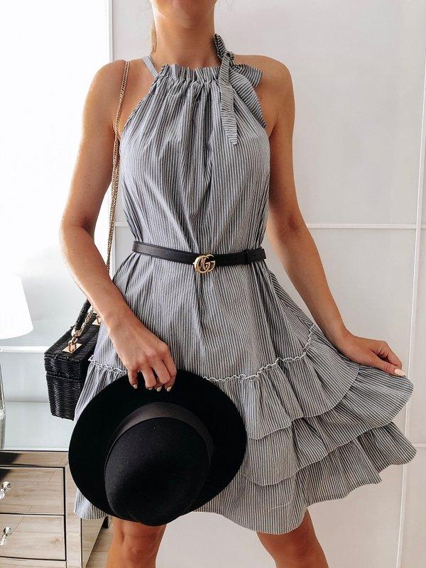 Sukienka Katia Szara