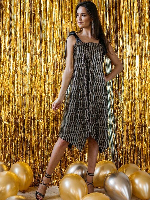 Sukienka Tiempa Złota