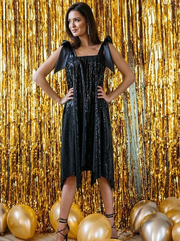 Sukienka Tiempa Czarna