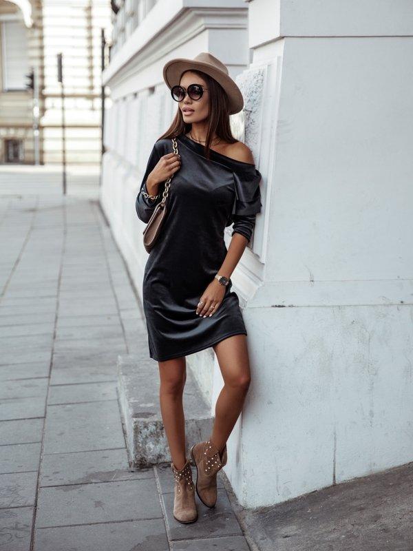 Sukienka Bombaj Czarna