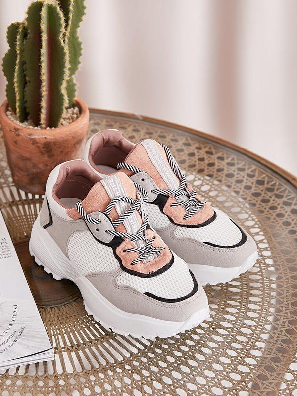 Sneakersy Modern Białe
