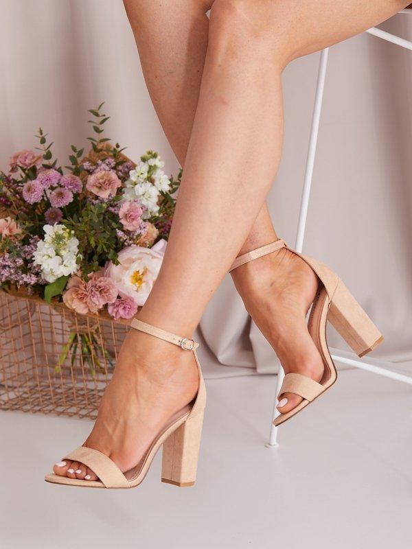 Sandałki Classy Beżowe