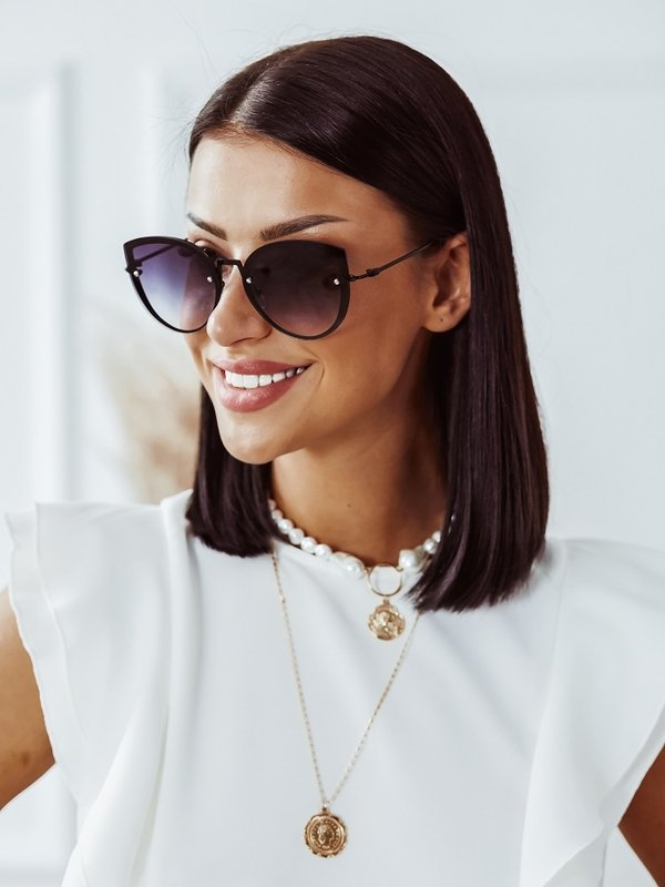 Okulary Lora Czarne