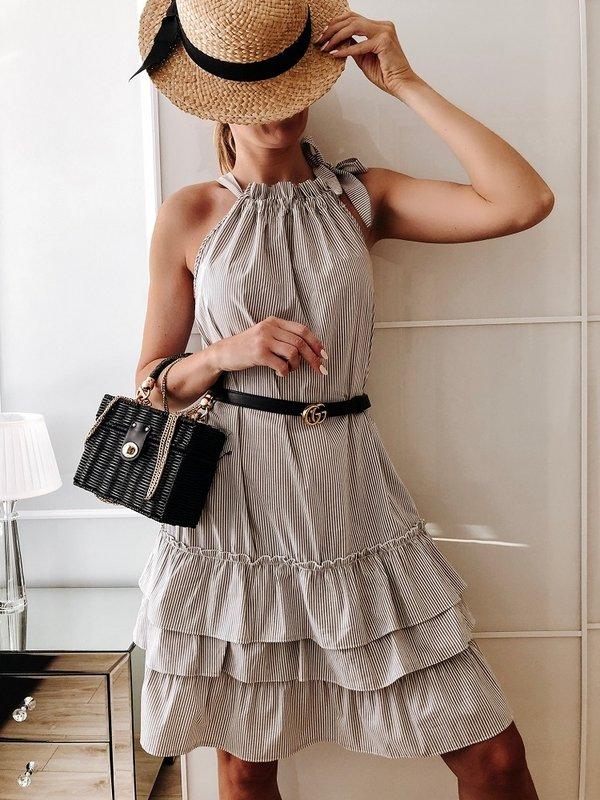 Sukienka Katia Beżowa