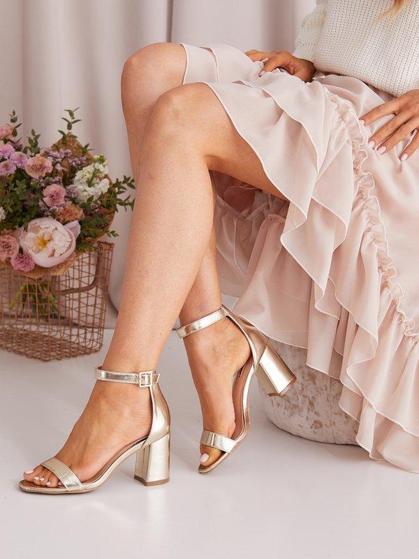 Sandałki Suns Złote