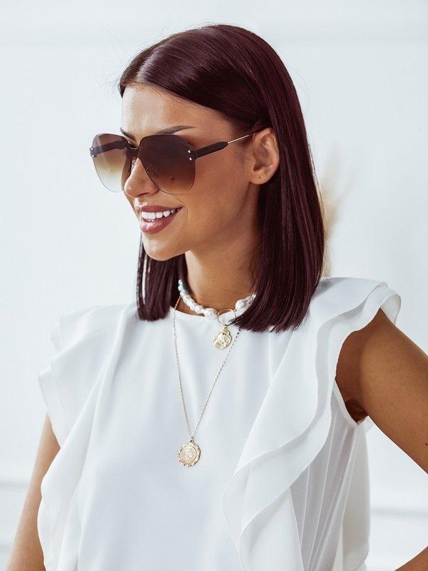 Okulary Miami Brązowe