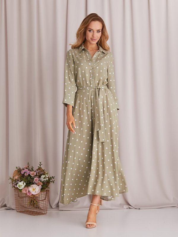 Sukienka Dotty Zielona