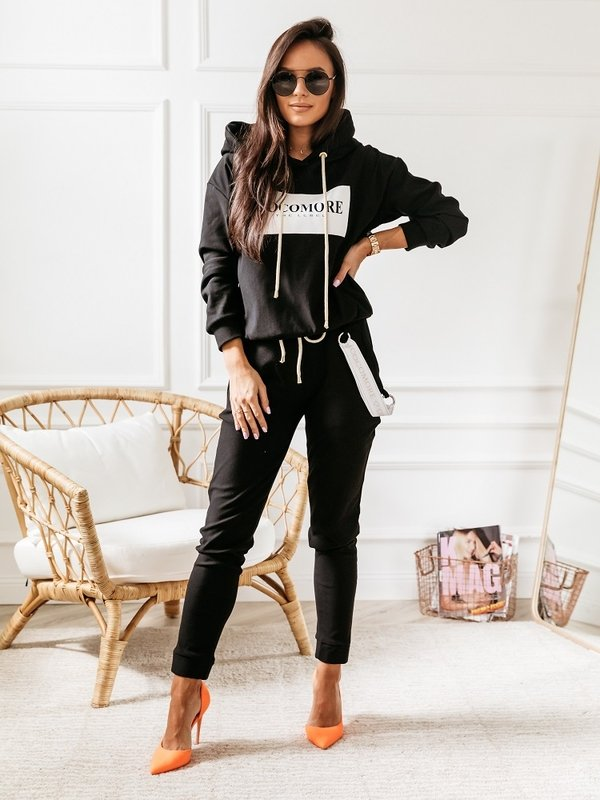 Spodnie Cocomore Label Czarne