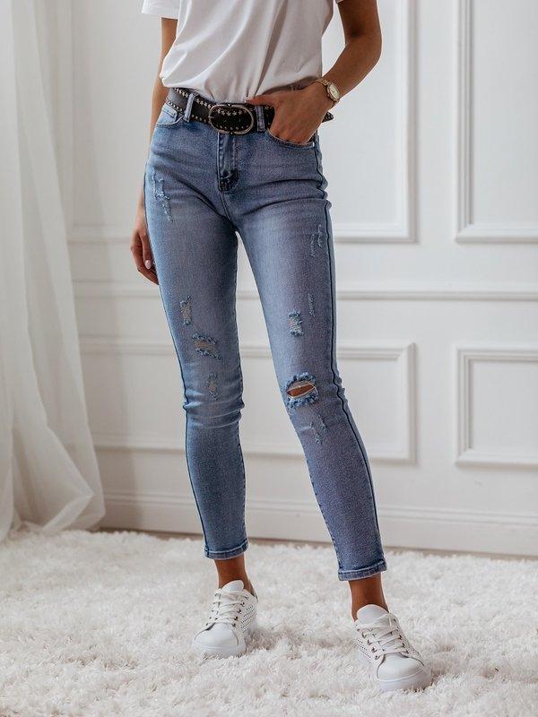 Spodnie Bright Ripped Jeansowe