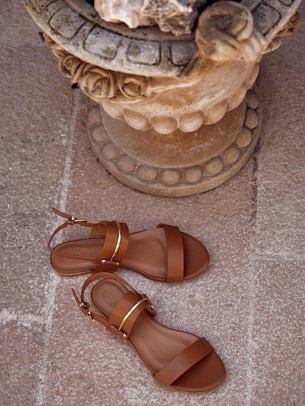 Sandałki Jolin Brązowe