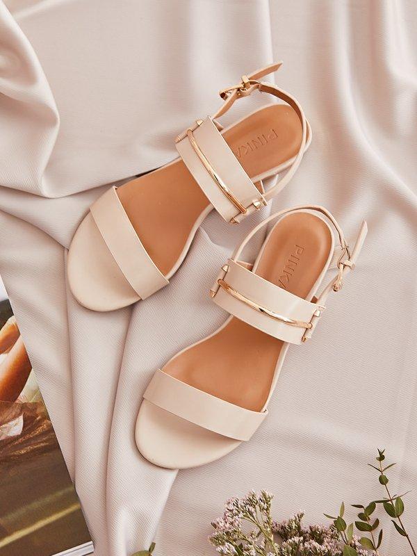 Sandałki Jolin Beżowe