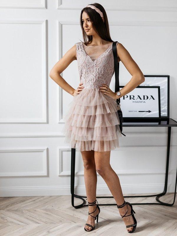 Sukienka Bacaro Pudrowa