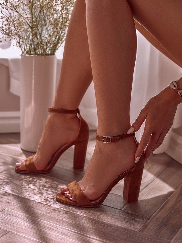 Sandałki Cosmo Brązowe