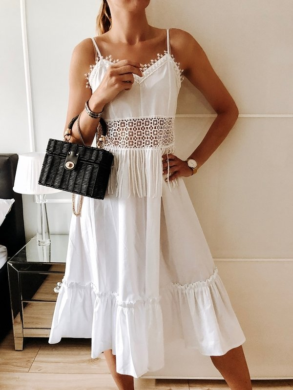 Sukienka Doretti Biała