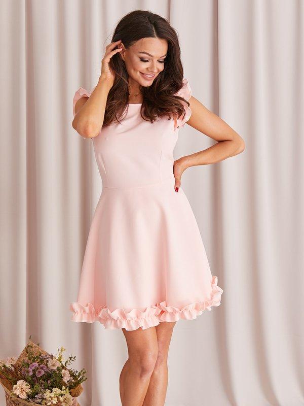 Sukienka Melisa Różowa