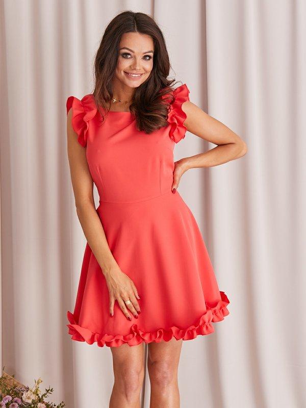 Sukienka Cindy Malinowa