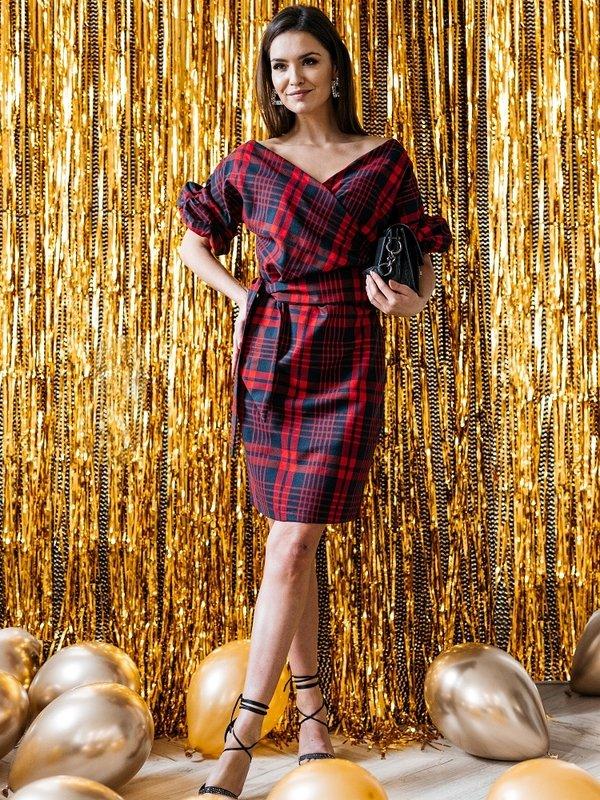 Sukienka Cecile Czerwona