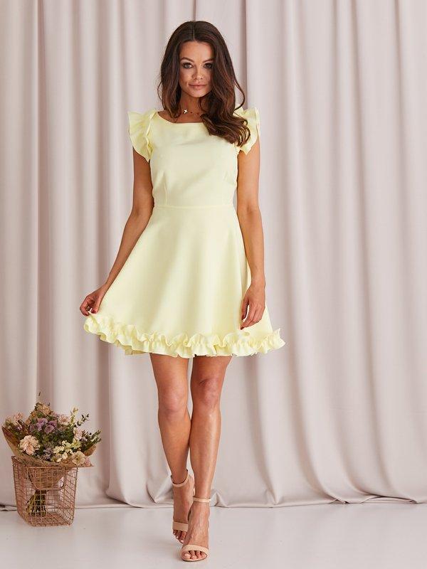 Sukienka Melisa Żółta