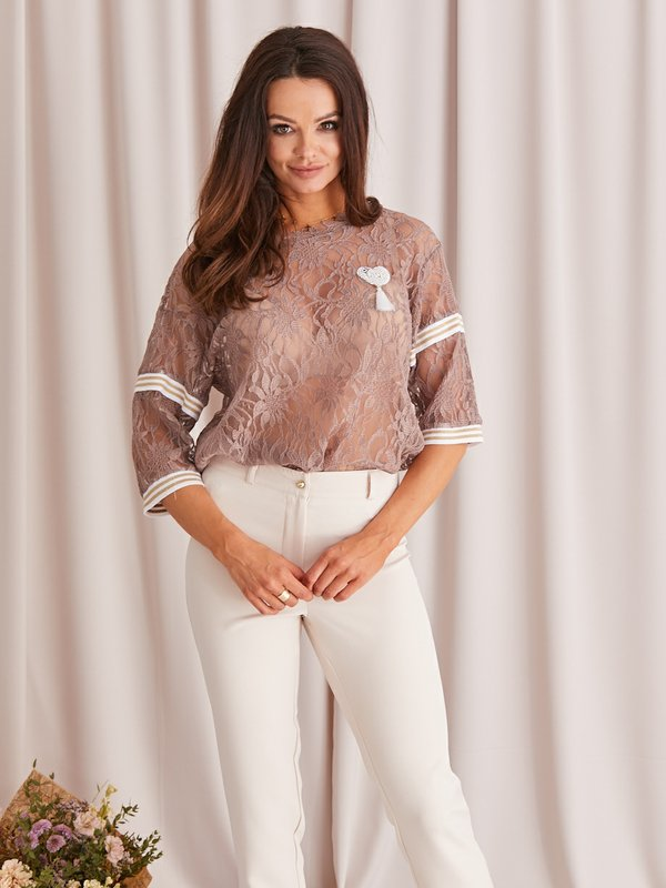 Bluzka Antonella Różowa
