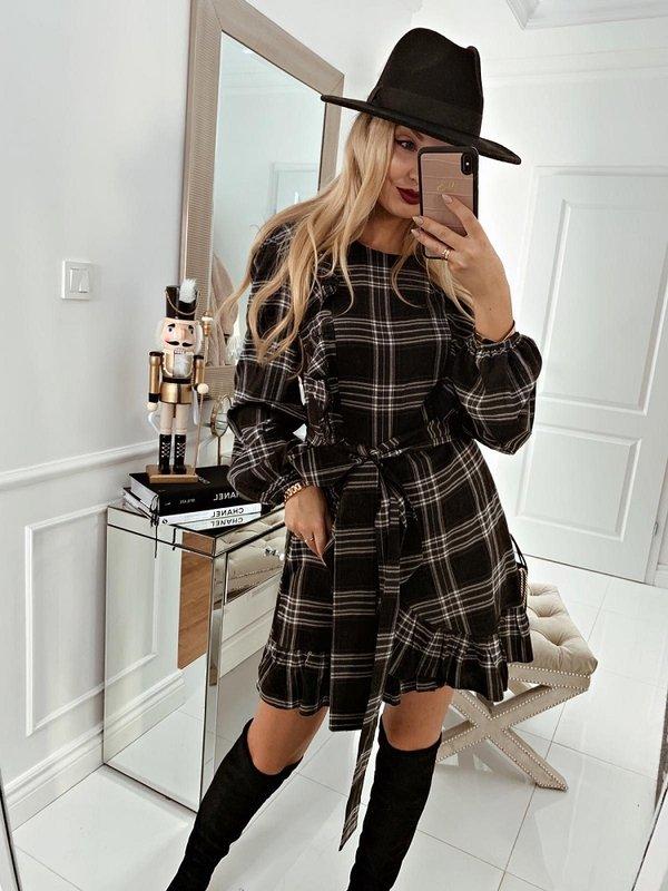 Sukienka Lorena Szara