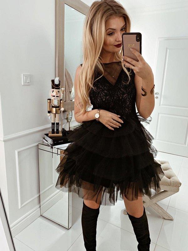 Sukienka Bacaro Czarna