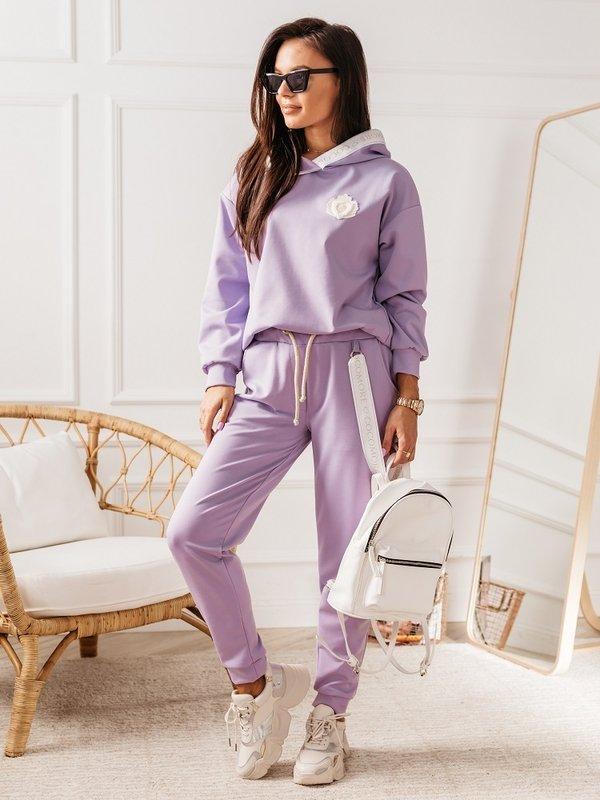 Spodnie Aurora Fioletowe