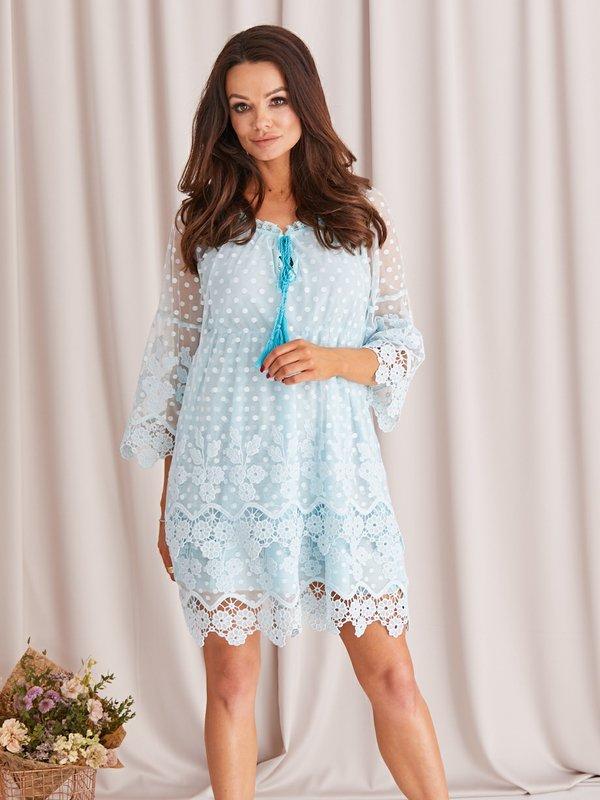Sukienka Camille Błękitna
