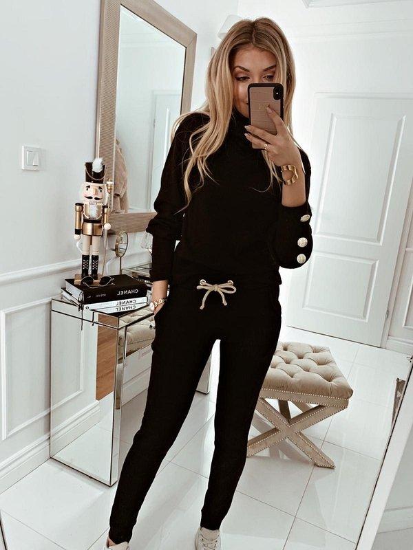 Spodnie Marlo Czarne