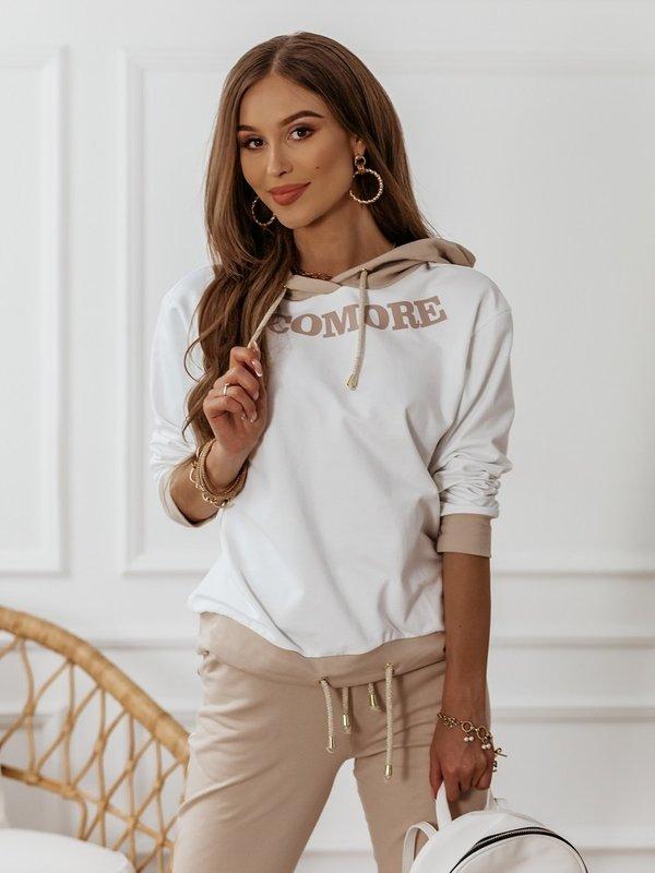 Bluza Cocomore White Beżowa