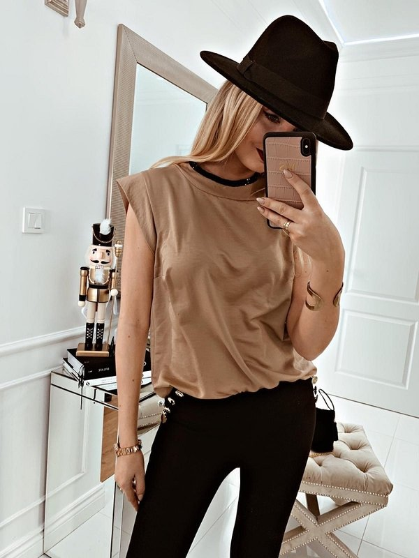 Bluzka Calila Beżowa