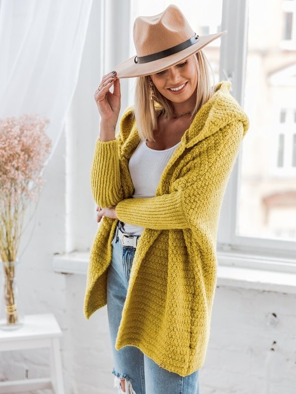 Sweter Lilly Limonkowy