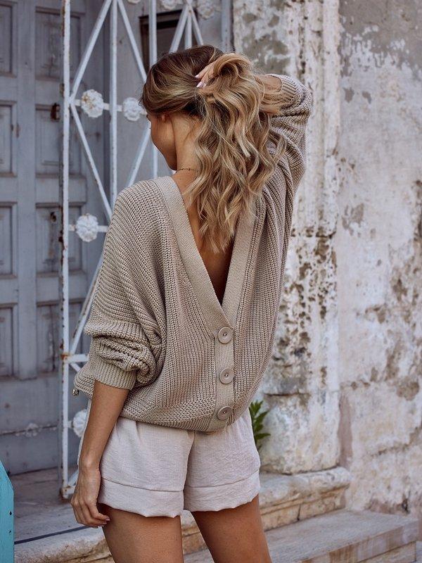 Sweter Maribel Beżowy