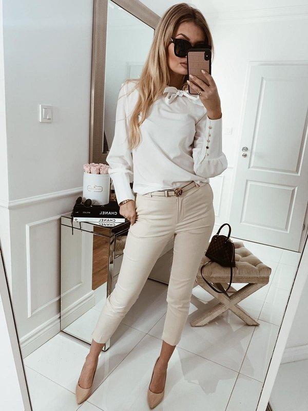 Spodnie Classic Beżowe
