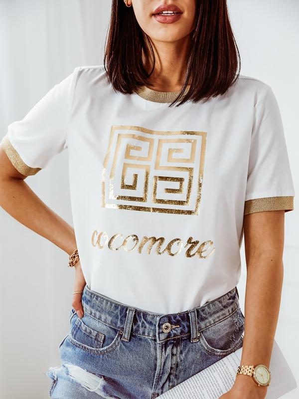 Bluzka Gold Label Kremowa
