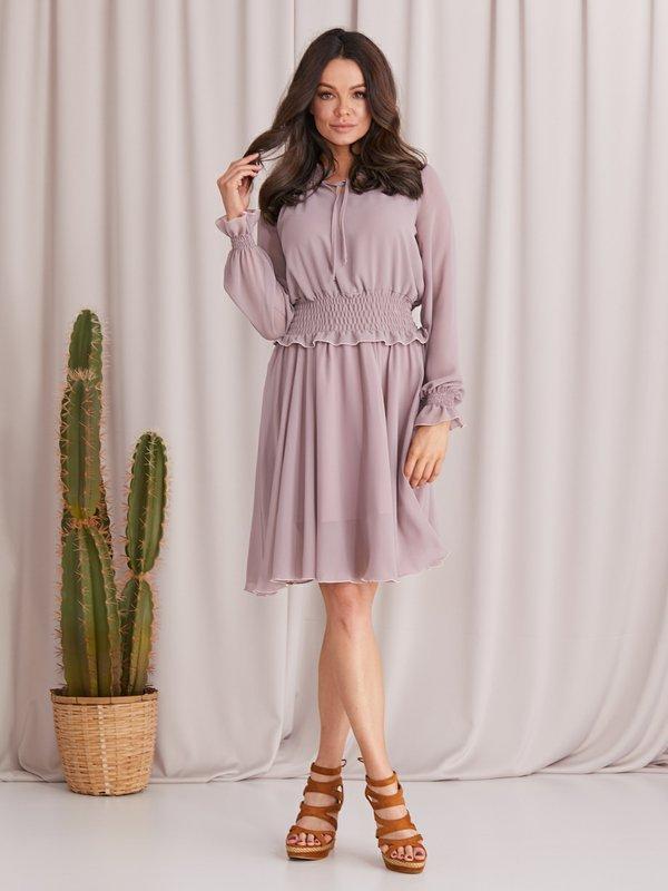 Sukienka Jazmin Wrzosowa