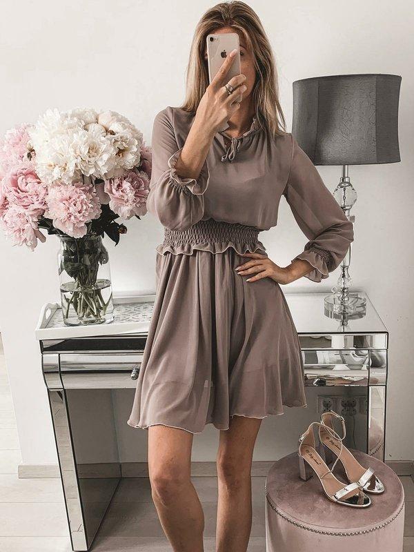 Sukienka Jazmin Brązowa