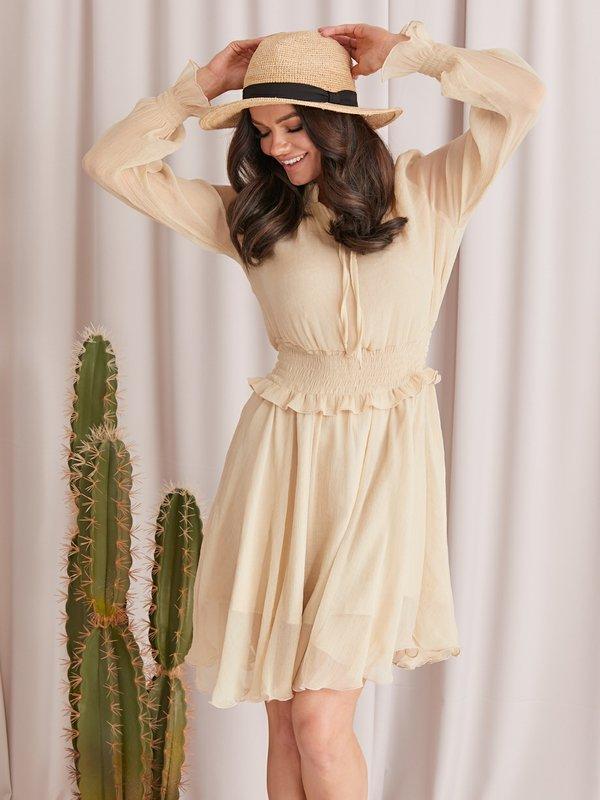 Sukienka Jazmin Złota