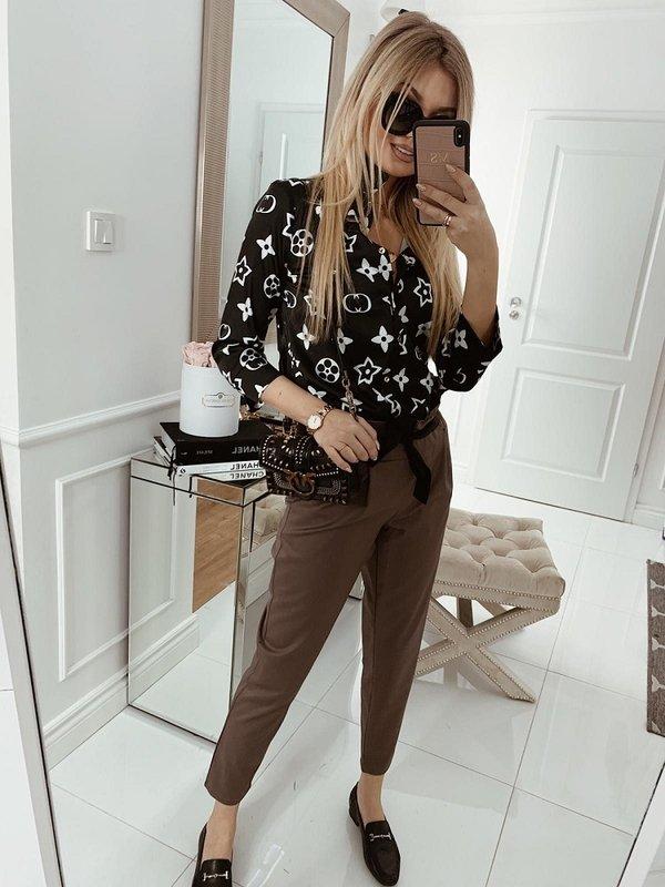 Spodnie Laurelo Brązowe