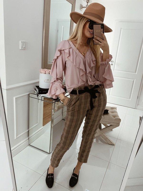 Spodnie Banero Brązowe