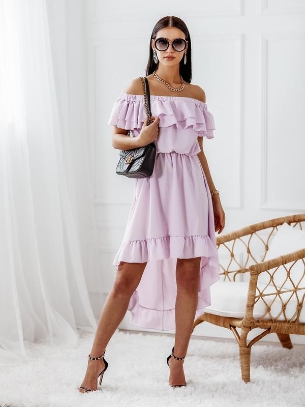 Sukienka Bingo Fioletowa