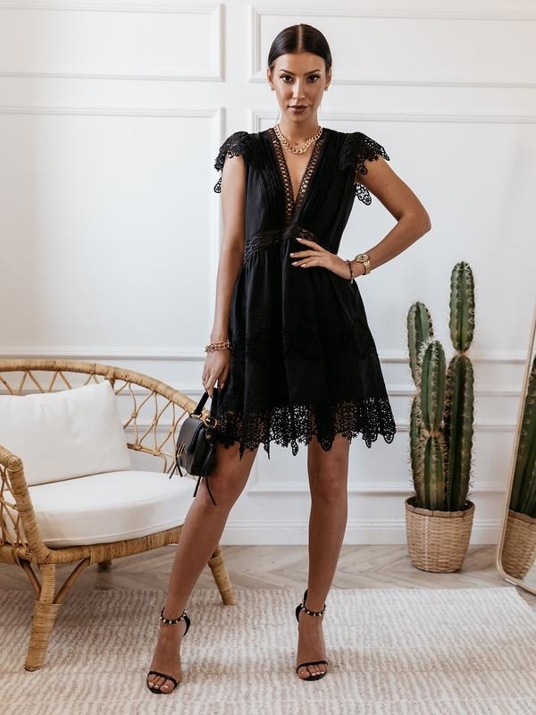 Sukienka Aqua Granatowa
