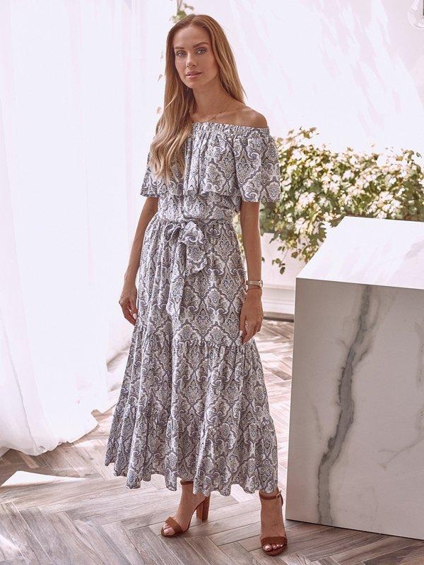 Sukienka Ella Biała